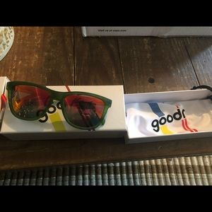 Other - Goodr green sunglasses